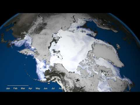The Arctic's Record Breaking Ice Melt