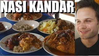 DELICIOUS MALAYSIAN FOOD - Nasi Kandar in GEORGETOWN, Penang with TREVOR JAMES