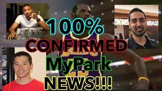 NBA 2K19 100% CONFIRMED MyPark NEWS!! NEW CLOTHES,MASCOTS!!!? BEST ARCHTYPES AND BUILDS