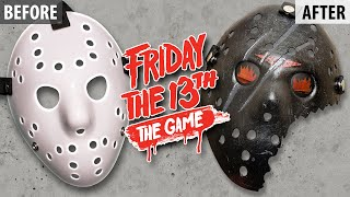 Making a Friday The 13th 2017 Video Game (Savini) Hockey Mask