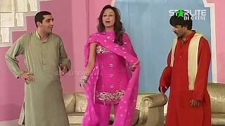 Zafri Khan, Deedar, Sajan Abbas and Naseem Vicky New Pakistani Stage Drama Full Comedy Clip