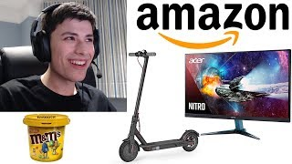 Giving George $5,000 To Spend On Amazon