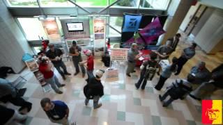 'CAT Simulators add spark to Company Day!