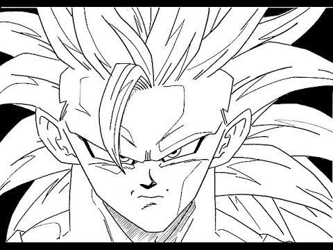 How To Draw Kid Goku Awaxdem