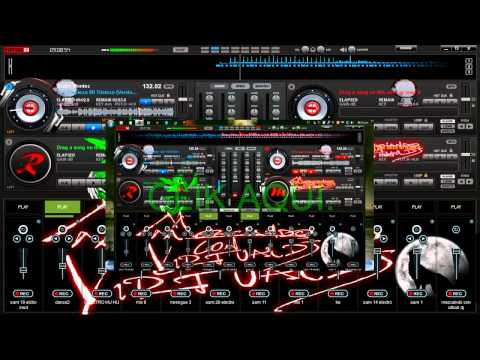 NUEVO MIX BACHATA  CON VIRTUAL DJ PRO USANDO SAMPLERS