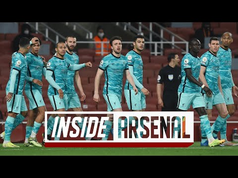 Inside Arsenal: Arsenal 0-3 Liverpool   The best view of the Reds' win at the Emirates