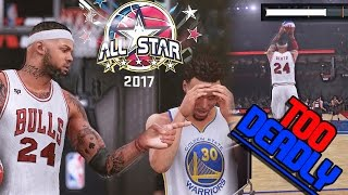 INSANE ALL STAR 3 POINT CONTEST! GENTO VS STEPH CURRY!! NBA 2K16 MyCAREER Ep. 70