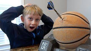 Amazing 7 Year Old Trick Shots | That's Amazing