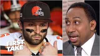 Odell Beckham Jr. wanting out is an indictment against Baker Mayfield - Stephen A.   First Take