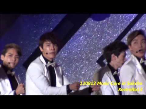 【Donghae Fancam】120813 Music Core in Sokcho ~Sexy Free & Single~ Super junior