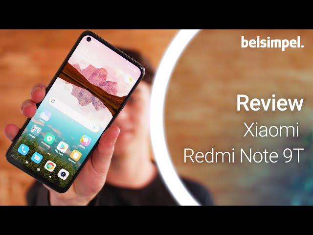 Belsimpel-productvideo voor de Xiaomi Redmi Note 9T 5G