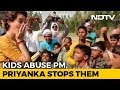 Viral Video: Priyanka Gandhi's Response To Children Abusing PM Modi Splits Twitter
