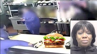 Michigan Woman Goes Off On Burger King Employee Over Tomatoes On Her Burger.