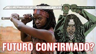 O futuro da Michonne na série - The Walking Dead