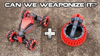 """How do we make this shoot NERF? """"Gesture Control Car"""" Review / Theorycrafting   Walcom S7"""