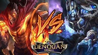 Liên Quân Mobile: Raz vs. Mortos - Quyền vương đấu với chúa tể xương! Ai là người chiến thắng?