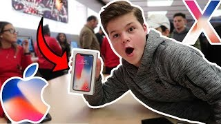 BUYING THE IPHONE X!