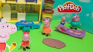 PEPPA PIG Playing in Mud Puddles a Video Parody