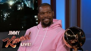 Kevin Durant on J.R. Smith Blunder, LeBron James & Partying After Finals Win