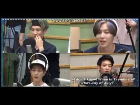 Taemin Sulking Cute Teased by Minho on Sukira TV BTS