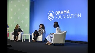 Michelle Obama and Julia Roberts in Conversation with Deborah Henry