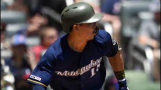Keston Hiura First 5 MLB Home Runs