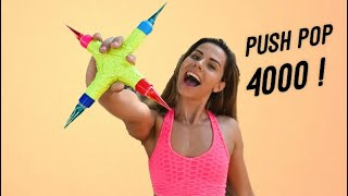 How to make the MOST EXOTIC Candy Weapon ! The Push Pop 4000