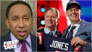 Stephen A. on Mac Jones to the Patriots: Bill Belichick found Tom Brady's successor | First Take