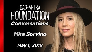 Conversations with Mira Sorvino