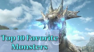 Top 10 Favorite Monsters in Monster Hunter