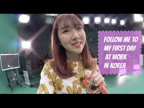 FOLLOW ME TO MY FIRST DAY AT WORK IN SBS~ | Sunnydahye