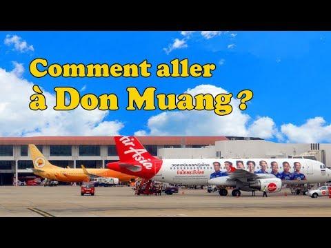 comment se rendre à l'aéroport de don muang ?