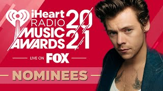 iHeartRadio Music Awards 2021 | Nominees