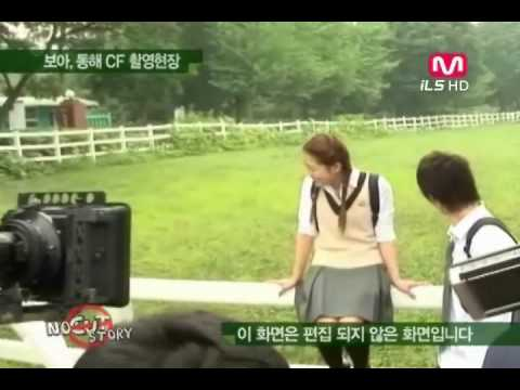 BoA & Donghae ♥ Making 0f Key Of Heart