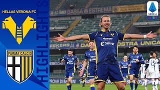 Hellas Verona 2-1 Parma | Barák Seals Come From Behind Win! | Serie A TIM