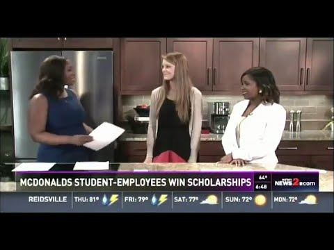 WFMY Ray Kroc Scholarship Coverage May 12, 2016