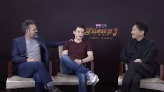 Spoiler Brothers-Tom Holland and Mark Ruffalo