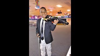 I Look To You- Whitney Houston (violin cover) Tyler Butler-Figueroa, Violinist 10