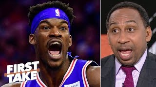 Jimmy Butler's no-nonsense attitude would clash with the Rockets – Stephen A. | First Take