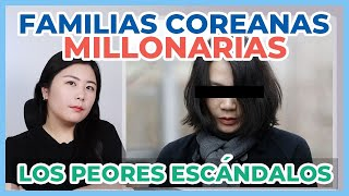 Los peores ESCANDALOS de MILLONARIOS en COREA del SUR (casos de GAPJIL de los CHAEBOL)