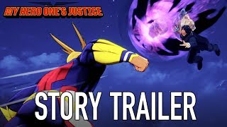My Hero One's Justice - Sztori Trailer