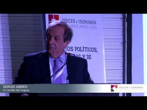 """Sergio Abreu: """"El multilateralismo hoy está en crisis"""""""