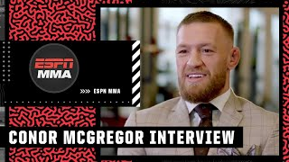 Stephen A. interviews Conor McGregor on expectations for the Dustin Poirier trilogy fight | ESPN MMA