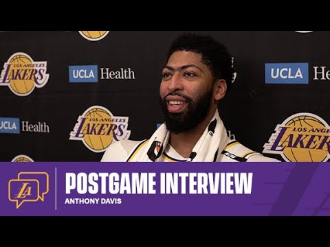 Lakers Postgame: Anthony Davis (5/9/21)