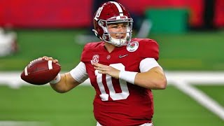 Alabama QB Mac Jones 2020 Highlights