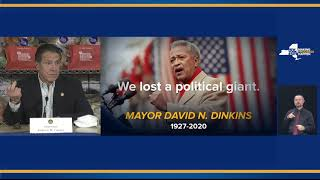 Governor Cuomo Comments on the Passing of Former New York City Mayor David Dinkins