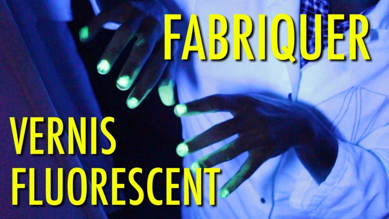Comment fabriquer du vernis fluorescent pour 2€ ?