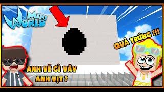 MINI WORLD : MINI GAME ĐOÁN HÌNH VẼ TRONG MINI WORLD !!! ft Mister Vịt , MK Gaming , VampyTV