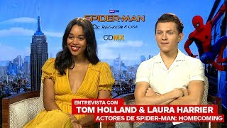 Entrevista con Tom Holland y Laura Harrier, actores de Spider-Man-Homecoming – IGN Latinoamérica