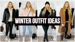 WINTER OUTFIT IDEAS | Casual & Stylish